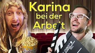 Karina bei der Arbeit - Kino | Freshtorge | REACTION