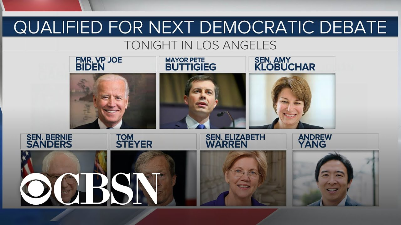 Democratic candidates prepare debate strategies