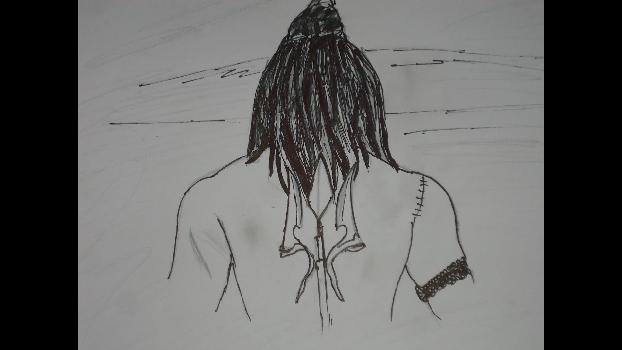 Drawing lord shiva