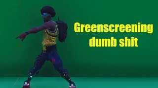 Messing with the Fortnite Greenscreen