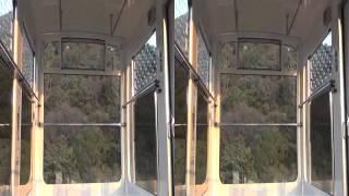10/31下田ロープウェイの夏色キセキアナウンス最終日の動画です。上り16:15ごろの撮影です。