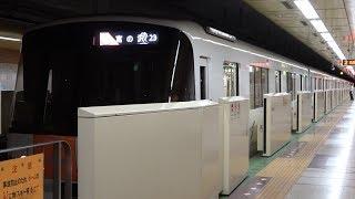 [60fps]札幌市営地下鉄東西線 最終宮の沢行 大谷地駅 Sapporo Municipal Subway Tozai-line Oyachi-sta.