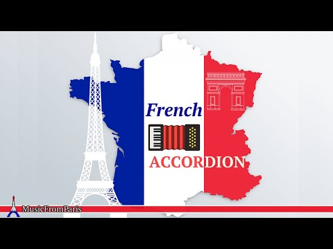 French Accordion Music - Classic French Café Songs