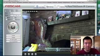 Howto Setup Foscam FI9826P P&P Wireless IP Camera