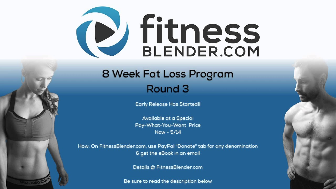 Brand New 8 Week Fat Loss Program Round 3 Now Available ...