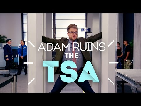 Why The TSA Doesn't Stop Terrorist Attacks - Adam Ruins Everything