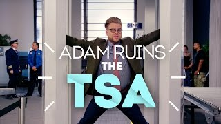 Why The TSA Doesn't Stop Terrorist Attacks - Adam Ruins Everything thumbnail