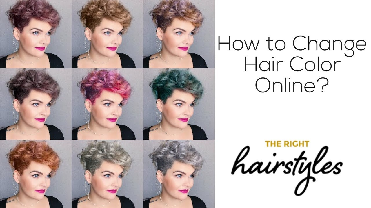 online hair color changer | the right hairstyles
