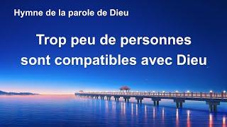 Chant chrétien avec paroles « Trop peu de personnes sont compatibles avec Dieu »