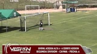 JUV. ACEQUIA ALTA 4 - 0 CERRITO ADDISON SEGUNDA CAYMA - Visión Deportiva 2013 Pueblo TV Canal 39