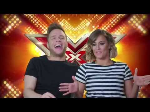 The X Factor Olly Murs Caroline Flack Interview 2015 Youtube