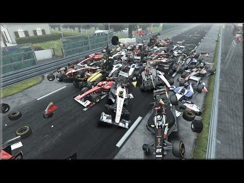 Random Racing Games Crashes and Fails #1
