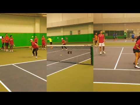 training camp soft tennis Indonesia in jincheon Korea 2017
