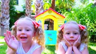 Nastya e pai divertida história para crianças sobre gêmeos