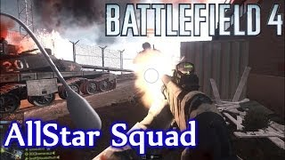 CLUTCH MCOM ARM! Battlefield 4 Altai Range Rush Clutch Arm (BF4 The AllStar Squad Live Comm)