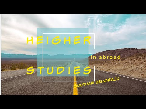 Higher Studies In Abroad