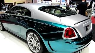 Rolls Royce Wraith New Colors Special First Impression Walkaround 4K Edition