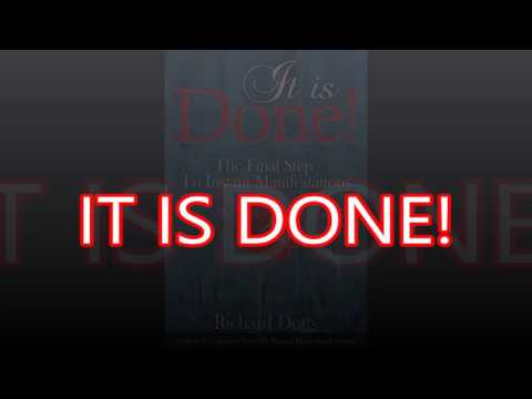 IT IS DONE!  technique can help you achieve your desires (audiobook)