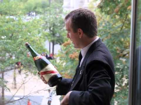 Comment sabrer le champagne ?