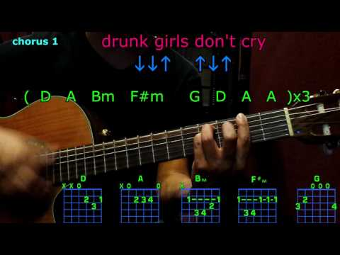 Drunk girls don't cry maren morris guitar chords