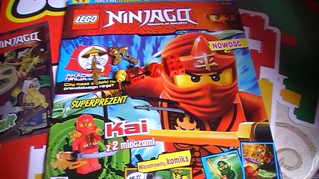 Otwieramy Magazyn Lego Ninjago Nr 12015 Super Mini Figurka Kai Red