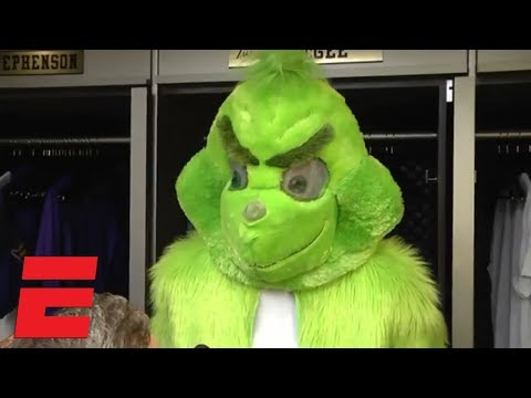 Nick Cash - The Grinch now with LeBron