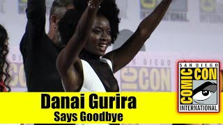 DANAI GURIRA Announces She's Leaving WALKING DEAD This Season | Comic Con 2019
