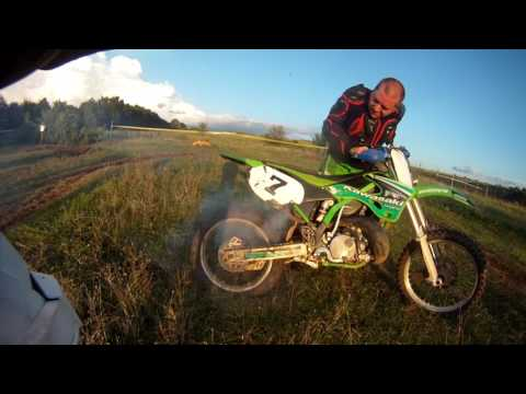 DIRTBIKE BLOWS UP ! IDIOTS RIDING BIKES