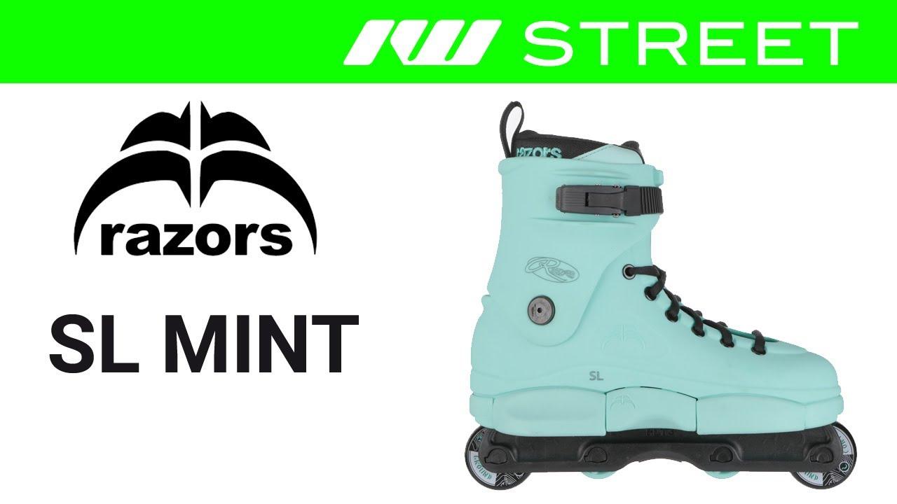 Razors SL Mint Aggressive Skates Inline-Skates