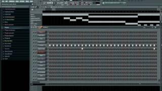 New Style Beat! Trap Crunk! All in FL Studio 9!!!
