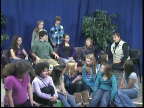 Saskia's Peg-TV Show 11/9/2012 - Cast of Annie