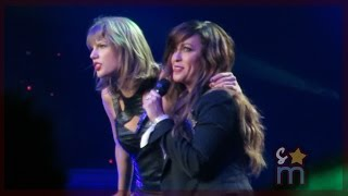 "Taylor Swift & Alanis Morissette - ""You Oughta Know"" Clip at Staples Center"