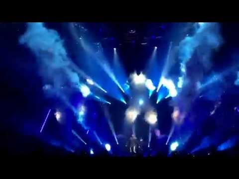 CO2-Cryo-jets for Armin ONLY 2016 at Arena Armeec Sofia