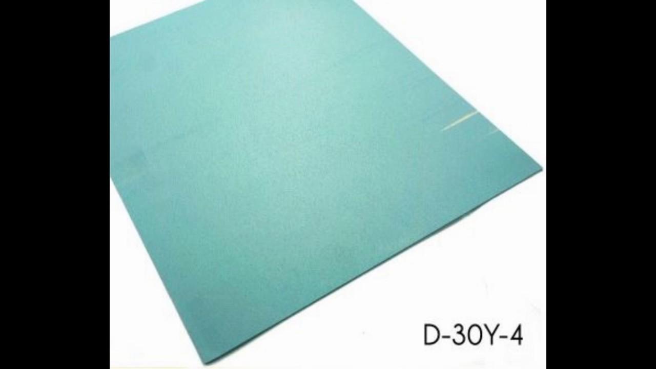 1.6mm*3.0mm Light Blue Bathroom Vinyl Floor Tiles UK Supplier - YouTube