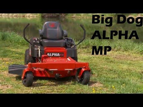 Big Dog Lawn Mowers Alpha MP