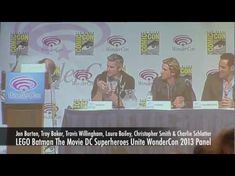 WonderCon 2013 LEGO Batman The Movie DC Superheroes Unite Panel With Troy Baker & More!