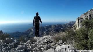 randonnée repèrage abri calanques janvier 2016