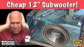 How bad is the $70 subwoofer from Walmart? Install | Review - YouTube
