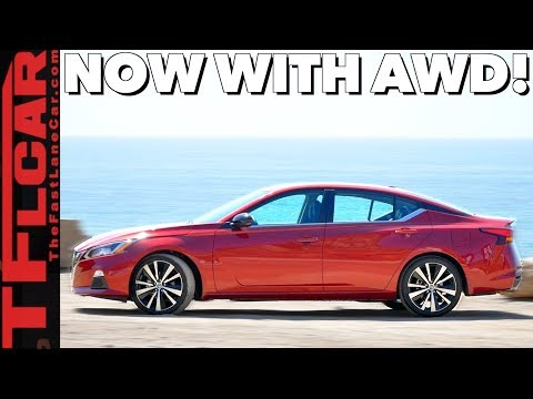 2019 Nissan Altima Review: Longer, Wider & Now With All Wheel Drive!