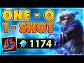 *PENTAKILL* CHAMPION AND TOWER ONESHOTS (1100+ AP) - BunnyFuFuu