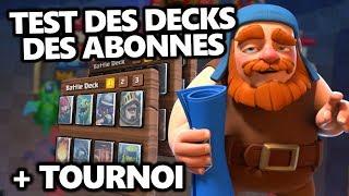 DONNEZ MOI VOS DECKS A TESTER || 1 deck = 3 games.
