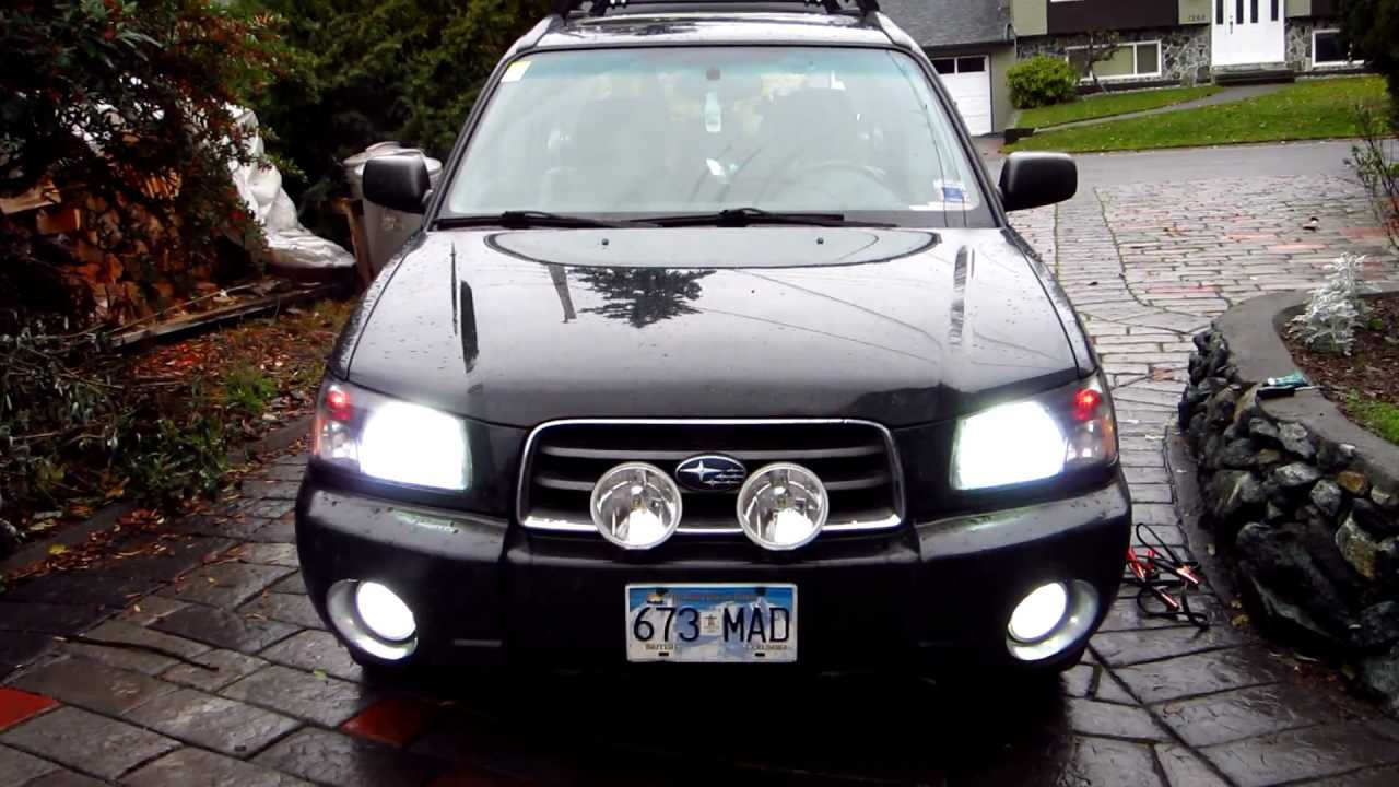 03 Forester Xs Hid S Amp Led S Youtube