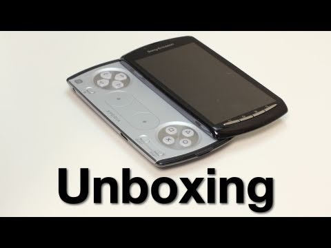 Sony Xperia PLAY Unboxing (Playstation Phone)