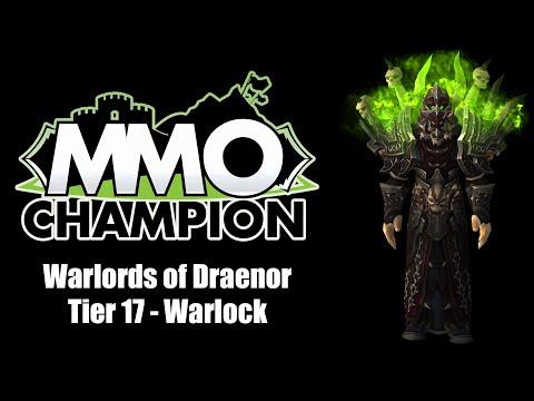 Warlords of Draenor - Tier 17 Warlock Armor Sets