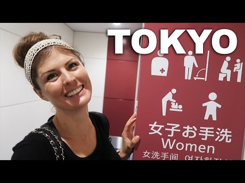 JAPANESE TOILETS / TOKYO AIRPORT ADVENTURE