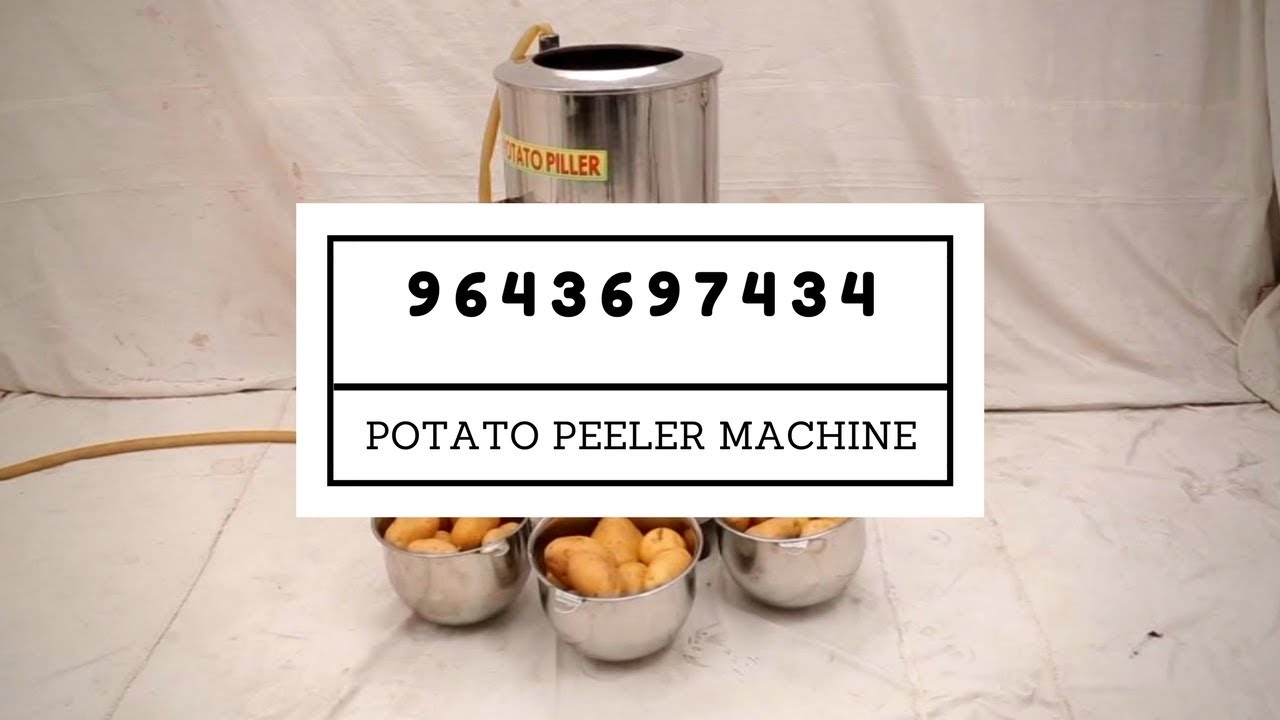 Commercial Potato Peeler Call 9643697434 Industrial Potato Peeling Machine Price In India