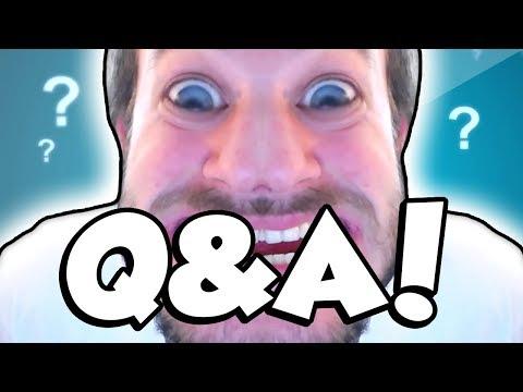 LIVE Q&A! (M3RKMUS1C Q&A)