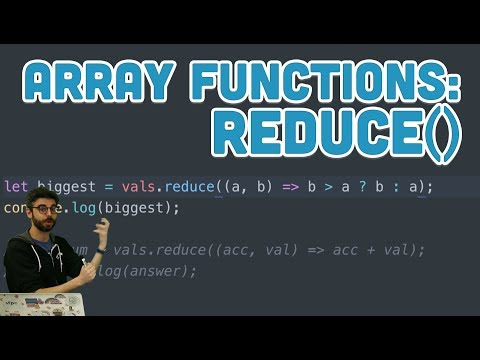 16.7: Array Functions: reduce() - Topics of JavaScript/ES6