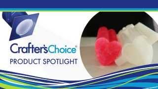 "Heart 2"" Column Silicone Soap Mold (2001)"