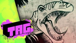 TAG | Jurassic World (2015) - Graffiti Art Series HD